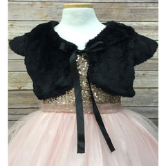 Fancy Faux Fur Bolero