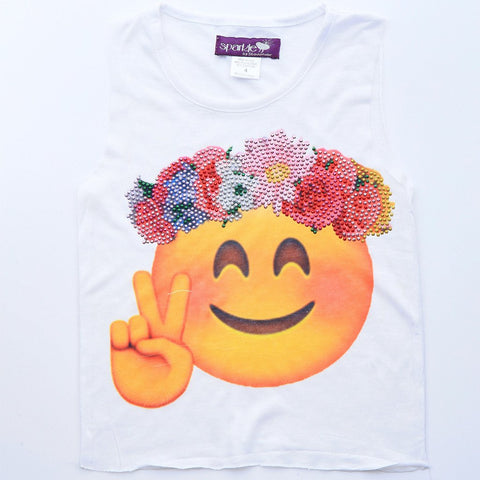 Hippie Flower Power Tank