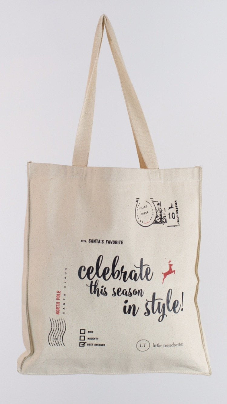 Limited Edition LT Canvas Gift Bag & Limited Edition LT Canvas Gift Bag - Little Trendsetter