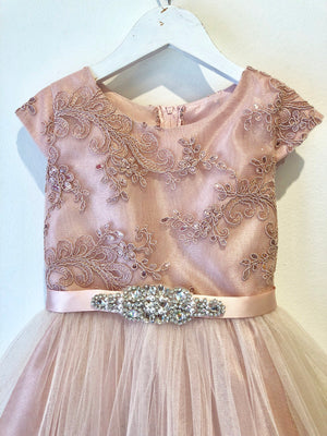 Hazel Dress - Blush