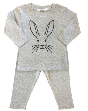 Oh Baby! Bunny Face Two Piece Set