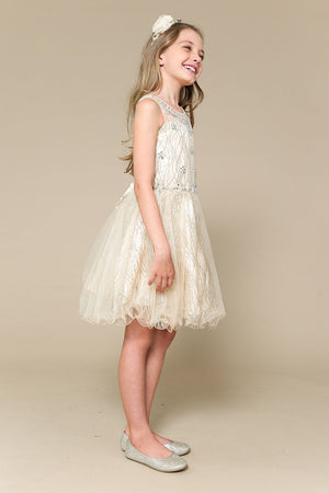 Champagne Paris Dress