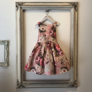 Lillian Dress - Dusty Rose