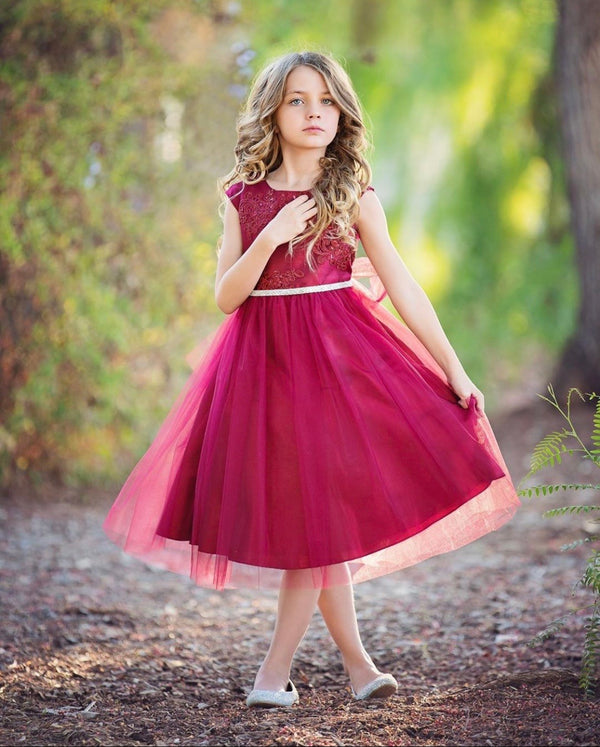 Burgundy Dream Dress