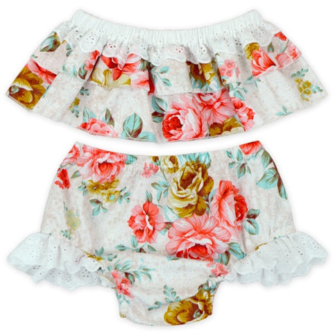 Rose Bloomer Set