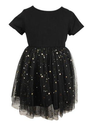 Gold Star Tutu Dress