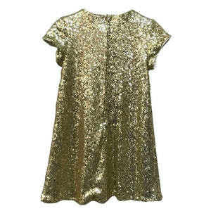 Gold Katy Dress