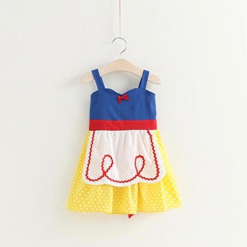 Red Apple Apron Dress