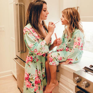 Mommy and Me Feeling Floral Robe