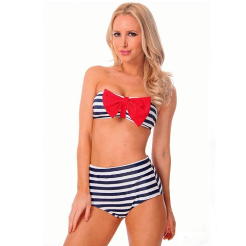 Mommy Sailor Two Piece Suit