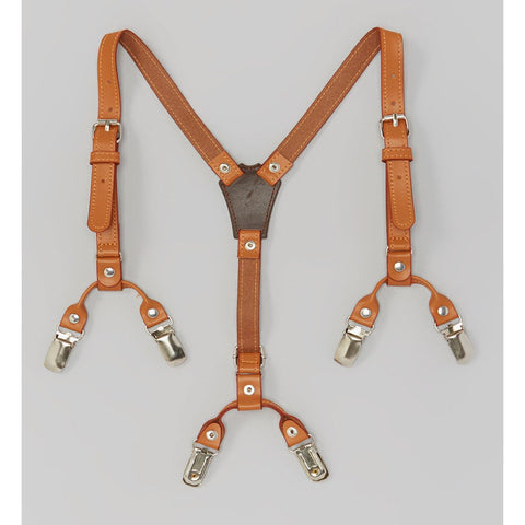 Brown Premium Suspenders