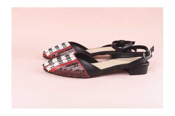 Astrid Strapped Ballet Flats