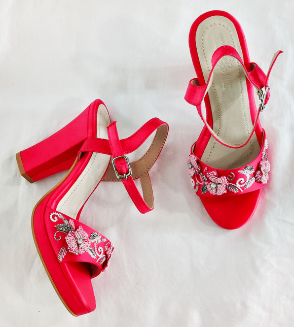 Armi Fuschia Sandals