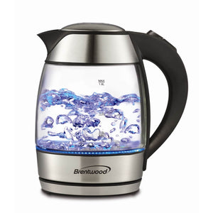 Brentwood Tempered Glass Kettle