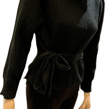 Load image into Gallery viewer, Gorgeous Turtleneck with Tie front