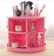 Load image into Gallery viewer, Rotating Makeup Organizer (Pink)-Bellabogo.com
