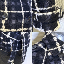 Load image into Gallery viewer, Michelle Windheuser 100% Fleece Wool Jacket Plaid