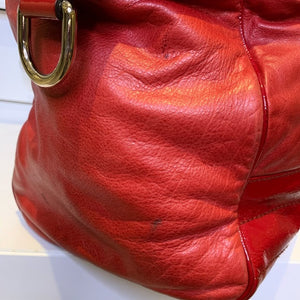 Gucci Red Leather AUTHENTIC bag