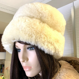 Genuine Sheepskin Russian Style Hat