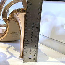 Load image into Gallery viewer, Steve Madden Rhinestone Stiletto Sandal Size 10