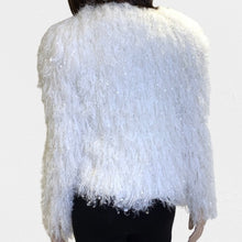 Load image into Gallery viewer, Simplee Feathery Cardigan Size Medium