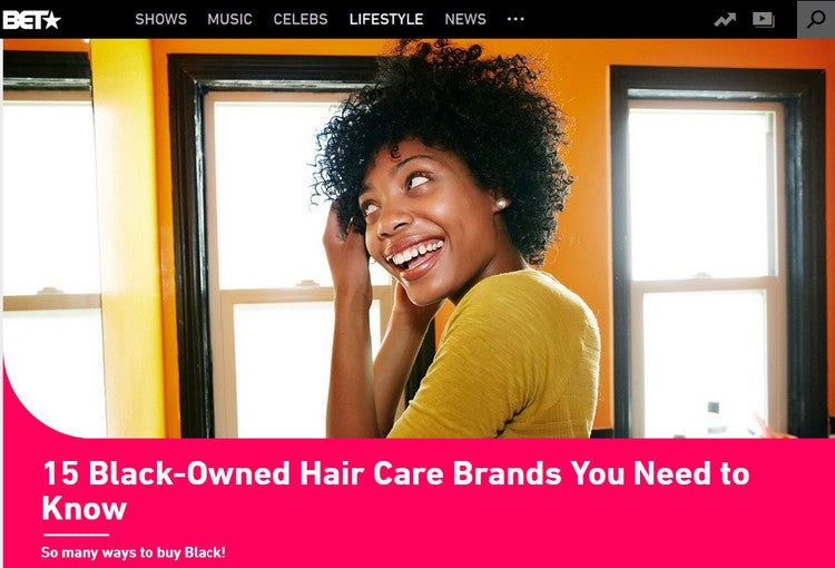BET GirlandHair Feature