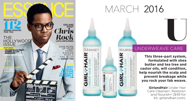 Essence Magazine Under Hair Care