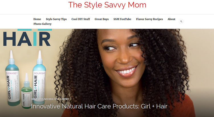 The Style Savvy Mom; GirlandHair Under Hair Care Blog