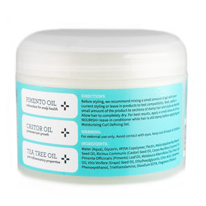 CURL CLOUD Moisturizing Curl Defining Gel for Curly Hair