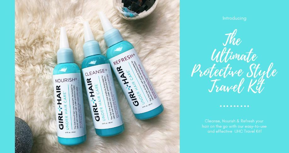 GirlandHair; Protective Style Travel Kit