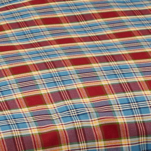 Jacks Bed Body Cover Red/Blue Tartan