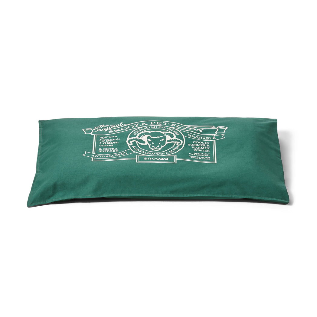 Organic Pet Futon Green