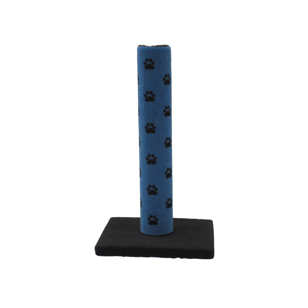 Cat Scratching Pole Blue