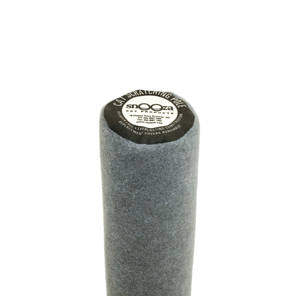 Cat Scratching Pole Grey Plain
