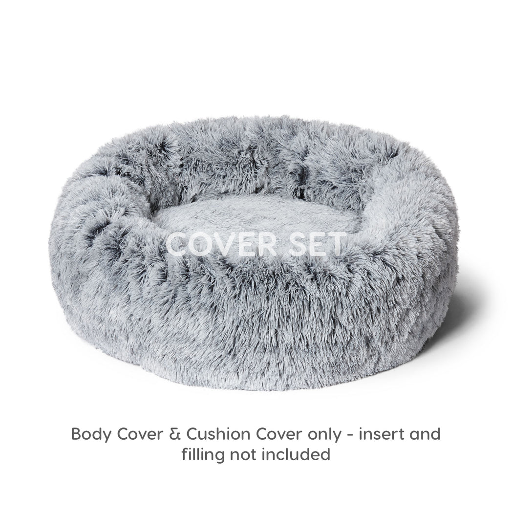 Cuddler Cover Set Silver Fox
