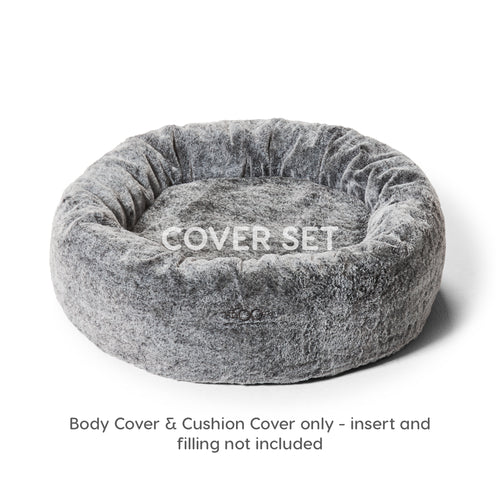 Cuddler Cover Set Chinchilla