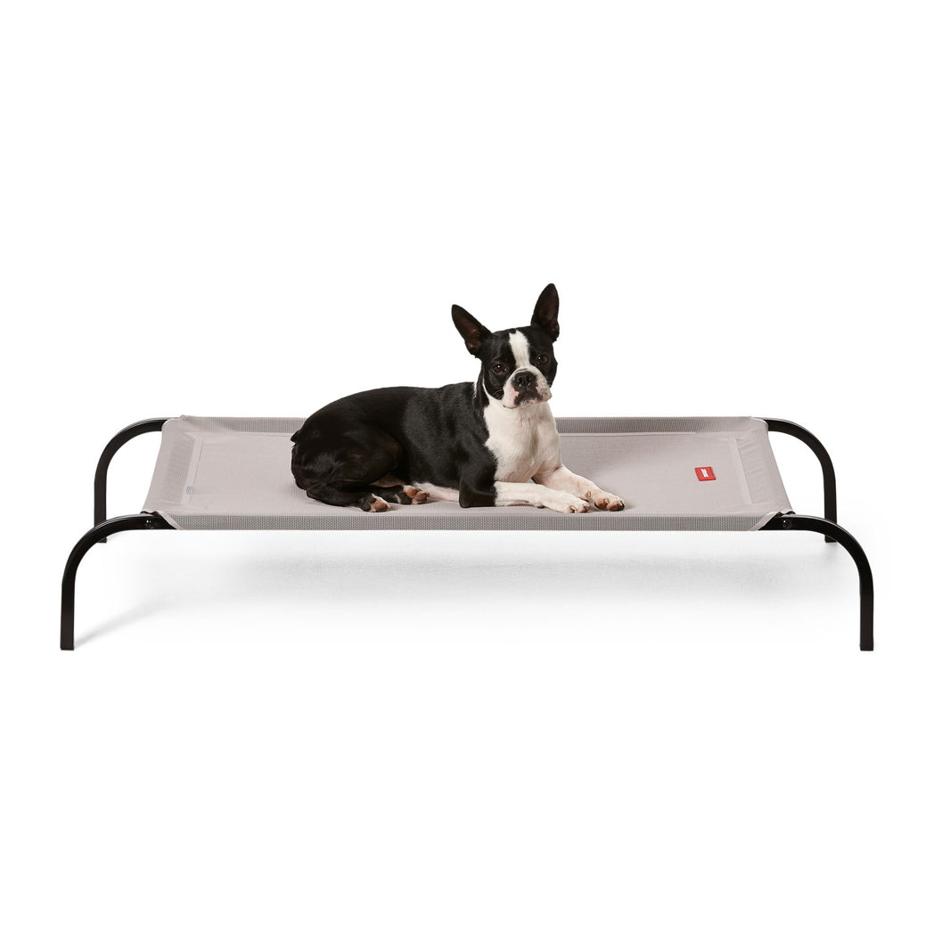 Flea-Free Dog Bed Grey/Black