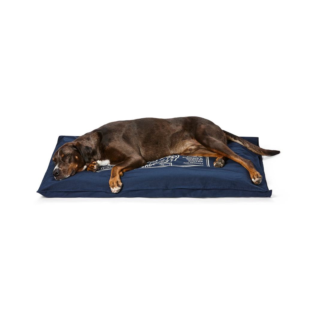 Organic Pet Futon Blue