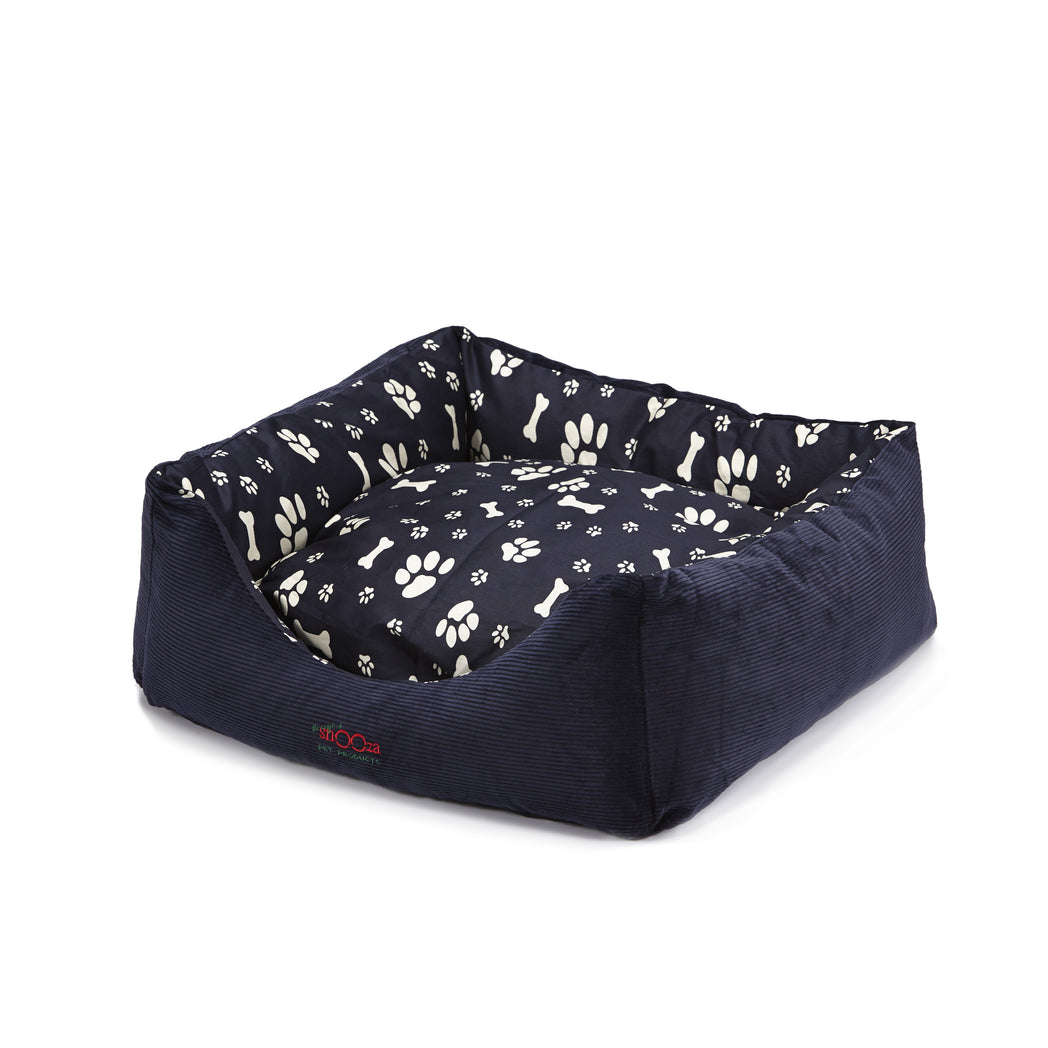 Jacks Bed Paws N Bones Navy