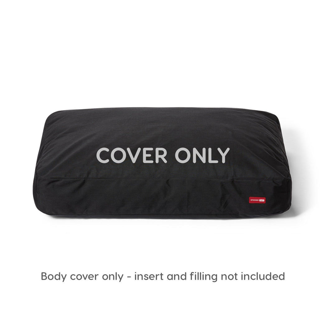 Snooza TUFF Pro Mattress Cover Black