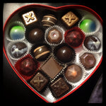 Heart box - medium - 18 piece