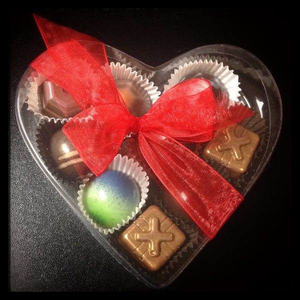 Heart box - small - 9 piece