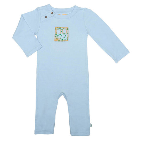 Finn + Emma Baby Blue Coverall *clearance*