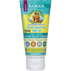 Badger Baby Sunscreen Lotion SPF 34