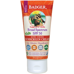 Badger Active Kids Sunscreen Cream SPF 30