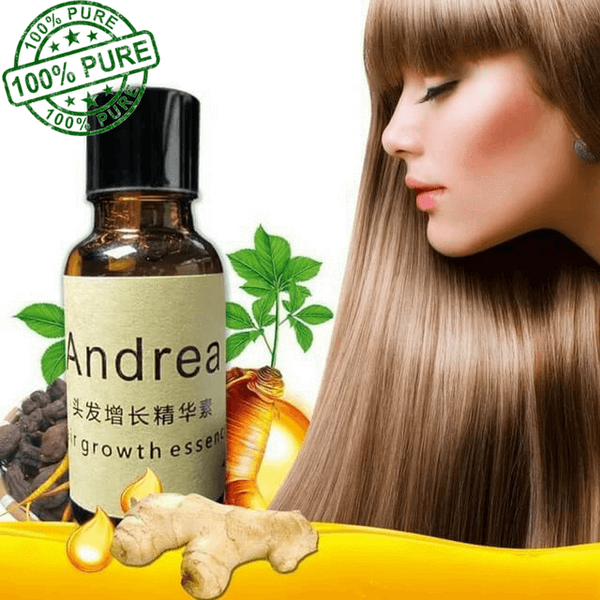THE ORGANIC HAIR GROWTH ESSENCE - ABSOLUTE HAIR GROWER & HAIR LOSS TREATMENT FOR MEN AND WOMEN.