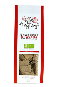 Oat crackers with Rosemary 200g