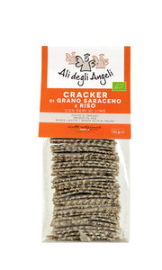 Buckwheat and rice and flax seeds crackers 150g