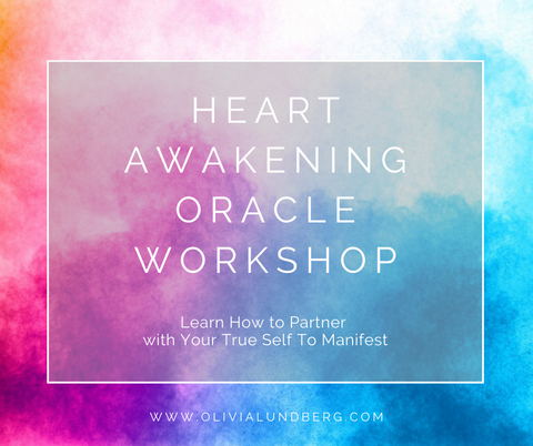 Heart Awakening Oracle Workshop! Self-Study Course - Digital Download