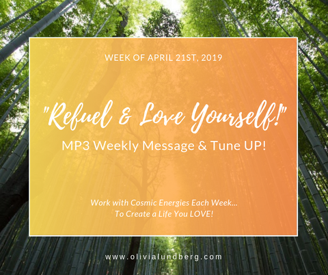 April 21st, 2019: MP3 Weekly Message & Tune Up With Olivia!